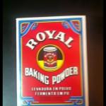 Caja de levadura royal de repostería