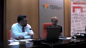 De izda a Derecha, Diego Soriano y Enrique Varela