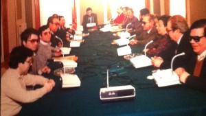 Primer Consejo General de la ONCE en 1982