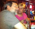 IGNASI TERRAZA y ENRIQUE VARELA en el Café Central. Entrevista