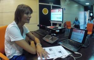 Nuria Mendoza en el CATS_MAD