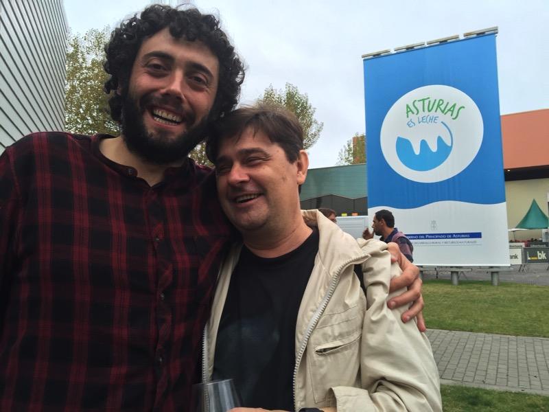 Gorka y Enrique disfrutando el final del #SOMERO2015